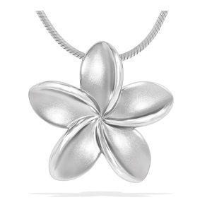 🌟NIB🌟 Na Hoku Sterling Silver Plumeria necklace